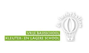 logo vrije basisschool de luchtballon