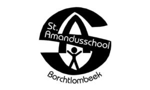 logo sint amandusschool borchtlombeek