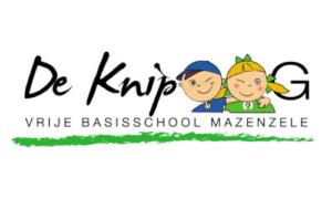logo de knipoog vrije basisschool mazenzele