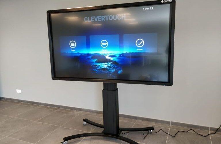 Digi Consult clevertouch touchscreen realisatie