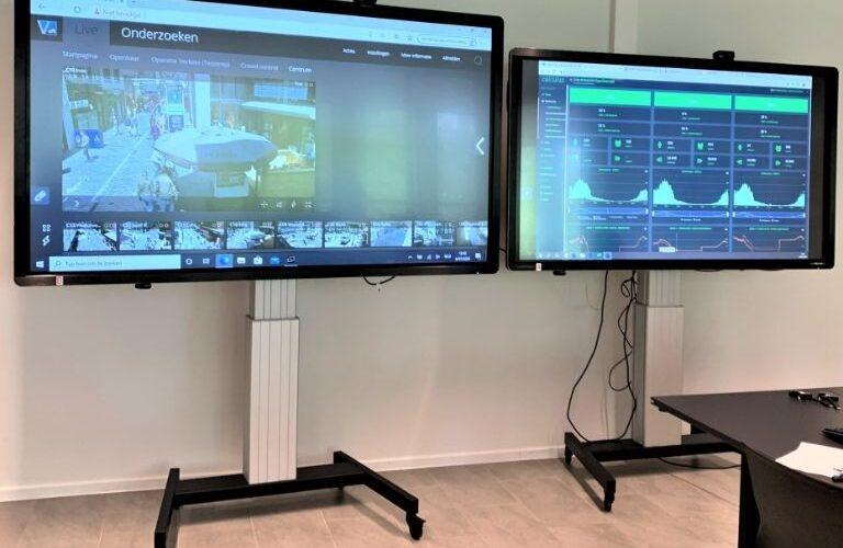 Digi Consult interactieve clevertouch touchscreens realisatie