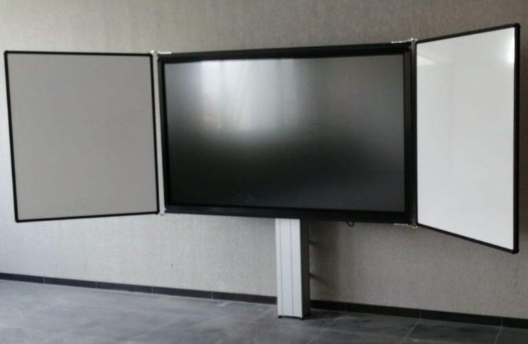 Digi Consult clevertouch interactief scherm met whiteboards realisatie
